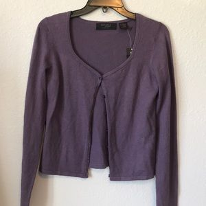 Express NWT silk and cashmere Button cardigan